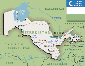 Teach Yourself Uzbek Learn The Language Of Uzbekistan Online Free - Uzbekistan interactive map